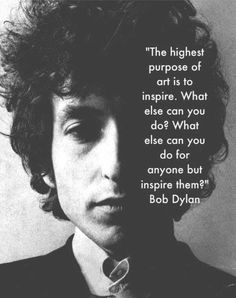 Highest purpose to inspire