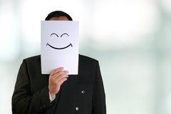 Corporate happy smile