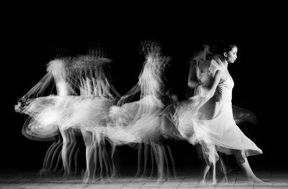 Time lapse dance grace